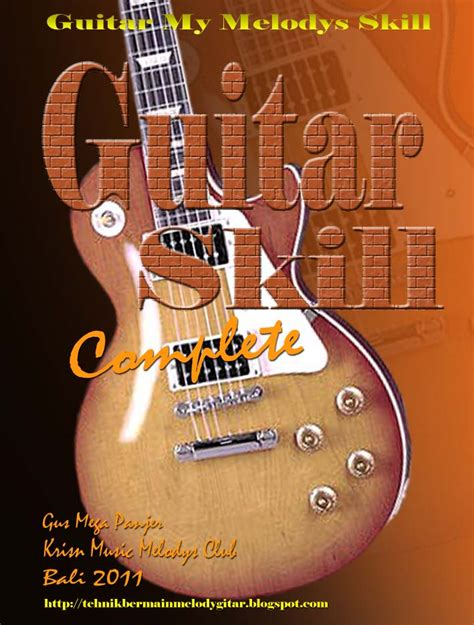 tutorial belajar gitar canon rock kunci melody guitar tehnik gitar melody tehnik gitar melody