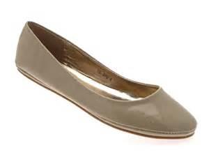 womens patent ballet pumps flats shoes comfortable