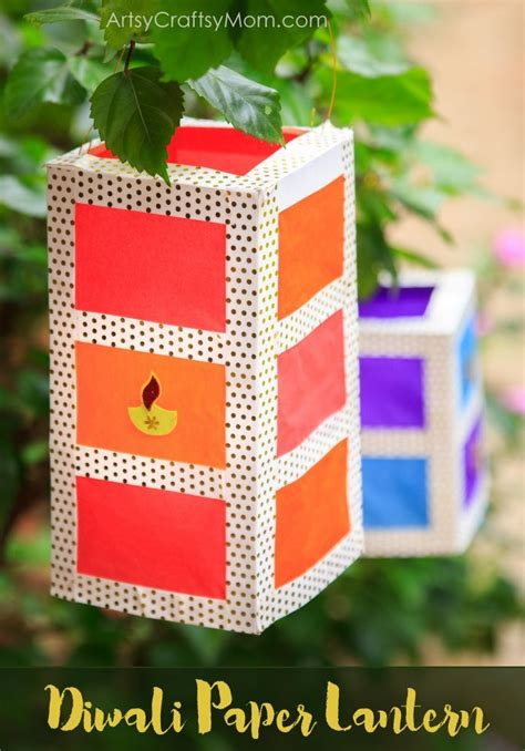 diwali paper lantern craft how to make a stunning diy paper lantern