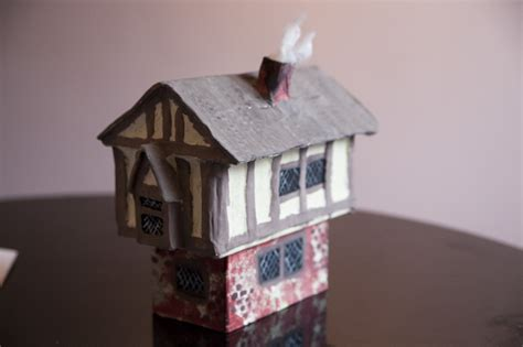 How To Make A Model House Out Of Paper - 187 my tudor house addtomatosauce