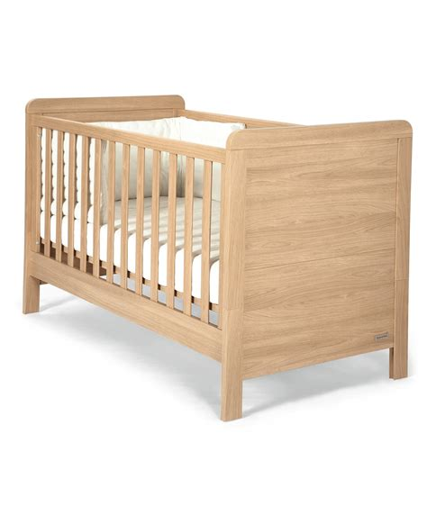 toddler cot bed rialto cot toddler bed natural oak nursery furniture