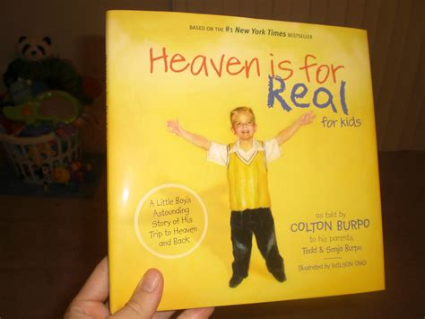 heaven is for real picture book what is your all time favorite non corny christian