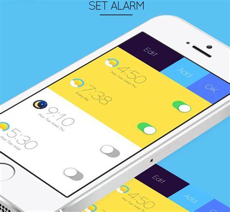 inspiration design application mobile mobile app design inspiration alarm concept designbeep