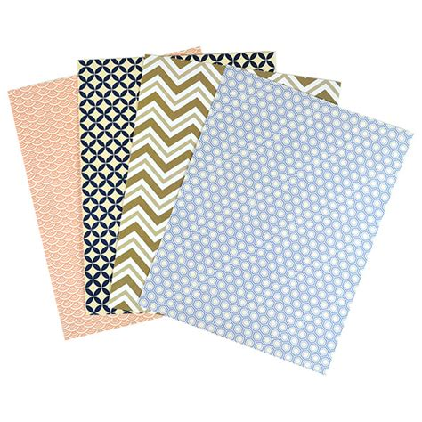 pattern card stock paper pattern paper 8 1 2 x 11 sheets cards pockets
