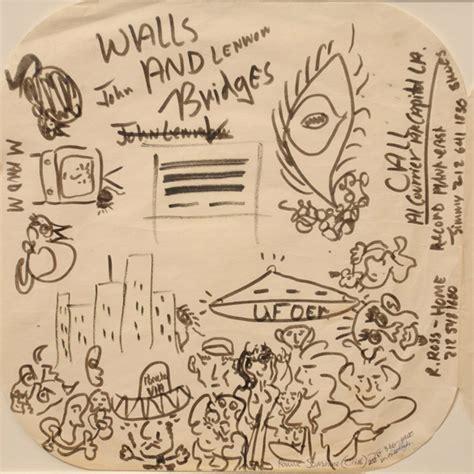 doodle ufo lennon s ufo doodle auctioned openminds tv