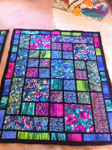Stained Glass Patchwork Patterns - 31553 best images about beautiful quilts on