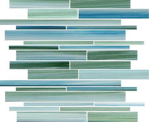 rip curl hand painted linear glass mosaic tiles rocky point tile glass and mosaic tile store