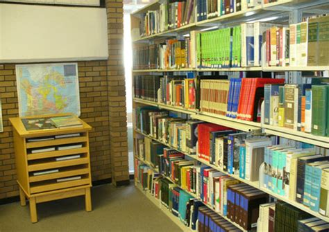 reference section in library tour yorkton regional high school