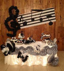 Music Themed by Music Themed Party Pop Star Birthday Party Pinterest