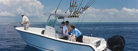 deep sea fishing boat with cabin saltwater fishing discover boating