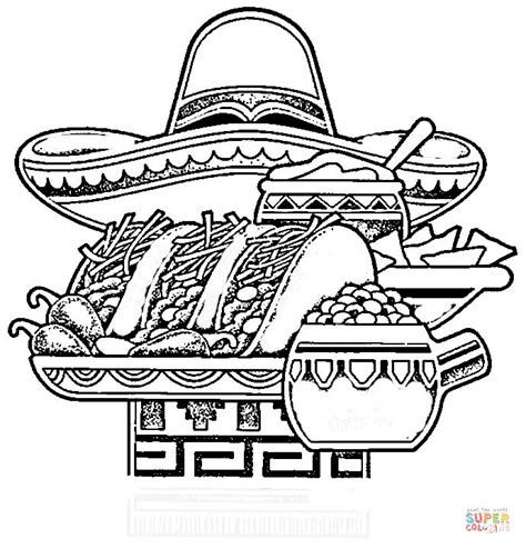 Mexican Coloring Pages To Print Coloring Pages Mexican Coloring Pages