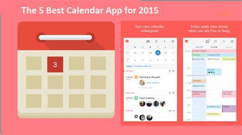 Best Calendar App 5 Best Calendar App For 2015