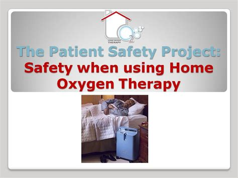 patient safety advocacy projects safety when using home