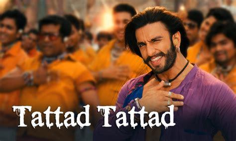 ram leela film song tattad tattad ramji ki chaal song ft ranveer singh