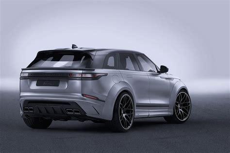 widebody range rover velar by lumma is all show with no