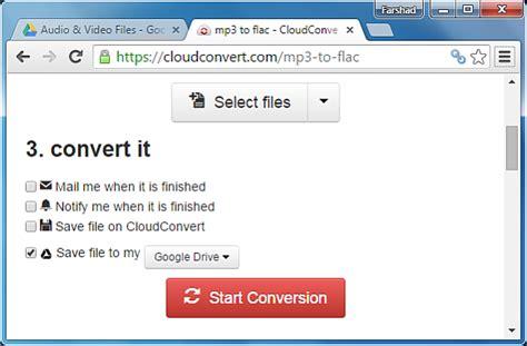 audio format converter google how to convert audio files online using google drive