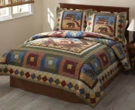 cabin creek bedding cabin quilt set rustic and