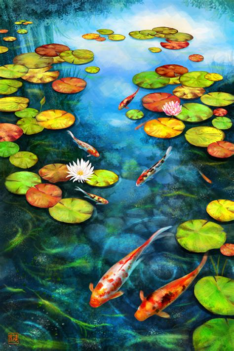 koi ponds can be designed specifically to promote health and growth of the nishikigoi or