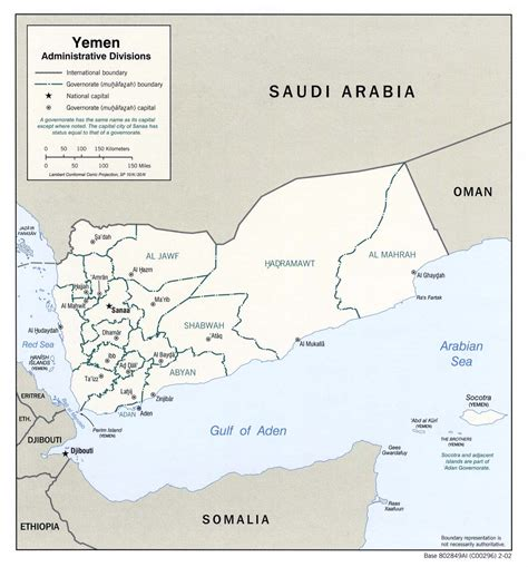 map of yemen nationmaster maps of yemen 28 in total