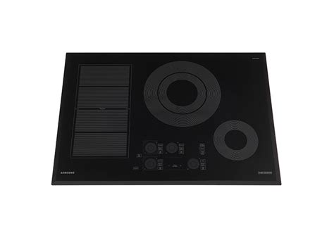 induction cooktop samsung 30 quot induction chef collection cooktop cooktops and hoods