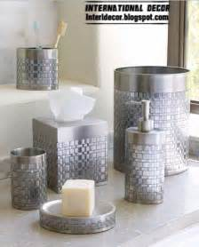 Bathroom Sets Stylish Bathroom Accessories Sets Colors Pieces