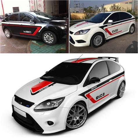 Sticker Mobil Stiker Mobil Open For Car Door 2015 new design car stickers for ford focus golf mg5 modified waterproof vehicle
