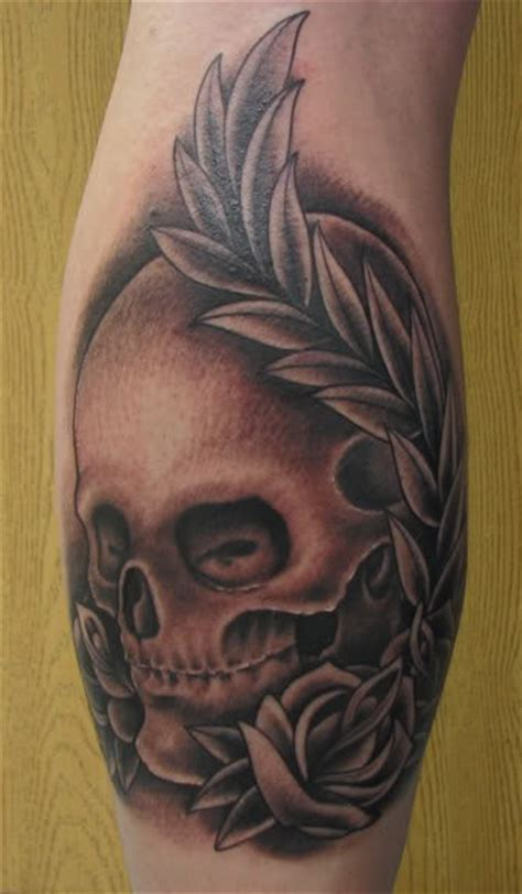 proton tattoo skull by proton