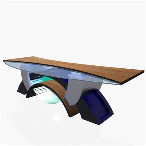 Virtual Tv Studio News Desk 2 3d Model Buy Virtual Tv News Studio Desk