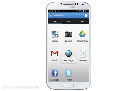 samsung mobile app the three stages of innovation in mobile printing that