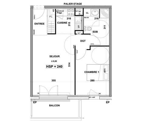 t2 2 chambres appartement n 176 b103 les terrasses du goueric t2 de 45 19