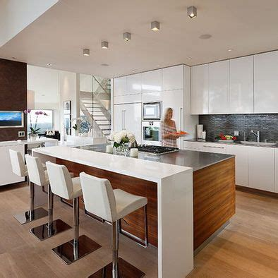 modern kitchen island ideas 1000 ideas about contemporary kitchen island on