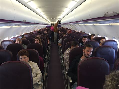 wizz air cabin wizz air airbus a320 200 economy class review