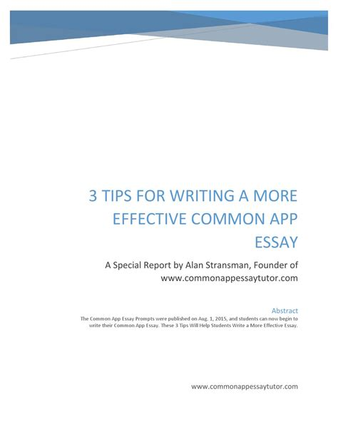 Sle Answer Common App Essays by Common App Sle Essays 28 Images Common Application Essay Sle 28 Images Common App Issuu The