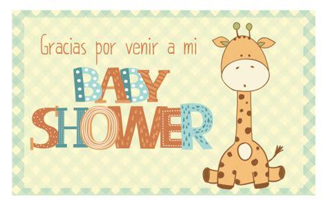 imagenes que digan gracias por venir baby shower huggies pa 241 ales y productos para beb 233