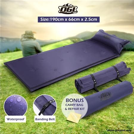 self inflating air mattress 190cmx66cmx2 5cm sales