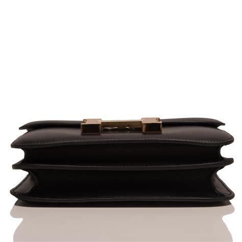 Hermes Birkin Ostrich Mini Black hermes orange h mini constance 18cm faux ostrich purse