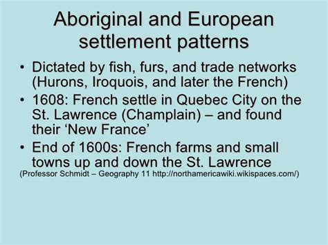 settlement pattern in french lascik bussiere family tree project