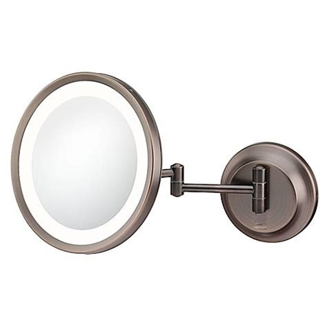 lighted makeup mirror bed bath and beyond kimball young 5x lighted makeup mirror bed bath beyond