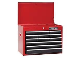 craftsman 16 quot 12 drawer top chest tool box