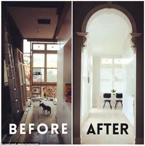 house renovation before and after uk the block s josh densten and jenna whitehead put first house renovation outside of