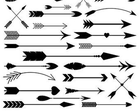 arrows clipart vector arrows clip art tribal digital