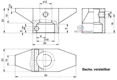 Schnittdarstellungen In Technischen Zeichnungen by Aus Einer Gesamtzeichnung Einzelteile Herauszeichnen 2