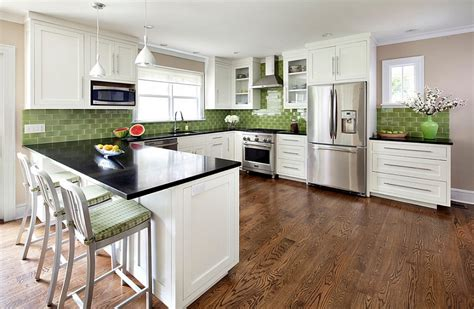 Kitchen Island For Small Kitchens - kitchen backsplash ideas a splattering of the most popular colors