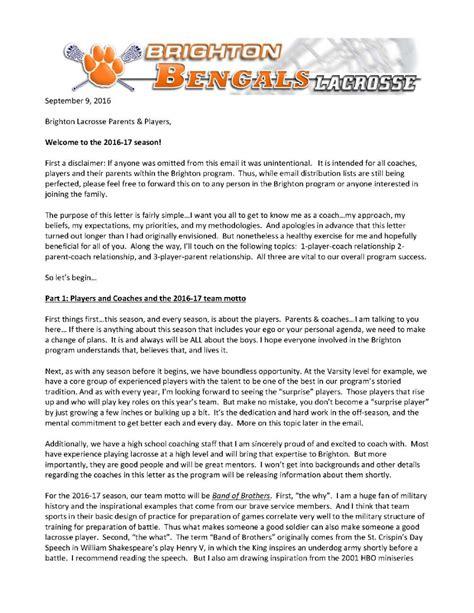 Letter College Cus Recruitment Brighton Lacrosse