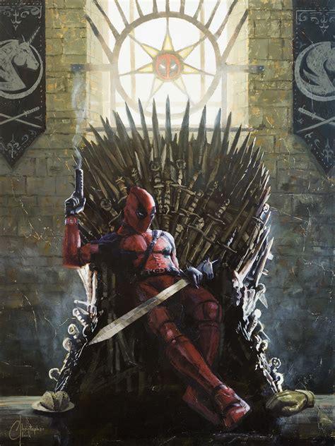wallpaper deadpool game of thrones wallpaper deadpool game of thrones quot i shit and i know