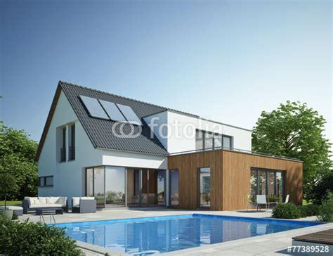 Carport Ideen 2449 by Quot Haus Anbau Mit Pool Quot Stockfotos Und Lizenzfreie Bilder