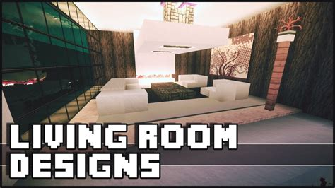 minecraft modern living room minecraft living room designs ideas youtube