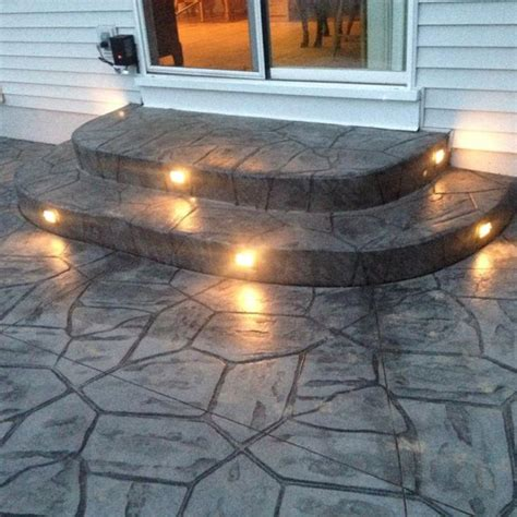 Embedded Patio Lights Best 25 Patio Stairs Ideas On Front Stairs