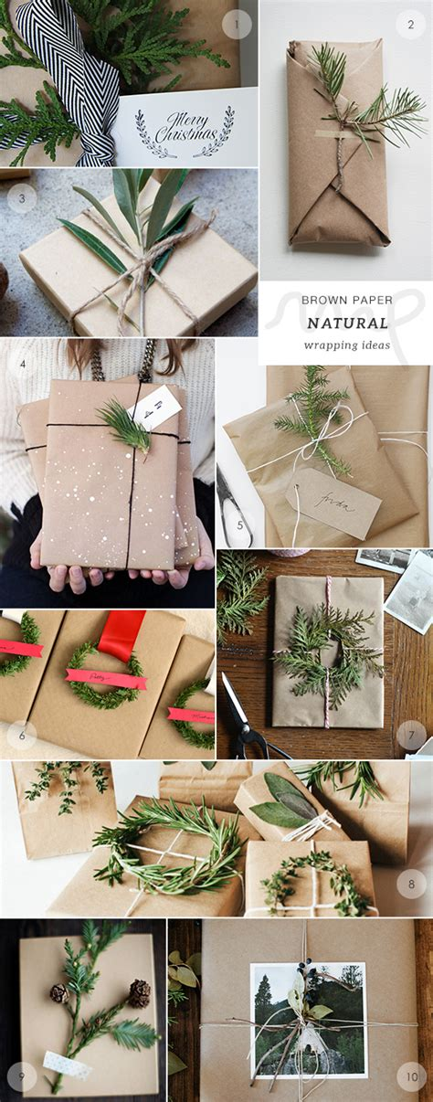 Craft Paper Wrapping Ideas - 40 brown paper gift wrapping ideas my paradissi