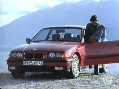Bmw 3er Werbung by Bmw 3er Coup 233 E36 1992 Tv Werbung